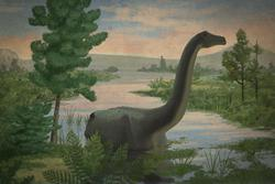 palaeo, painting, all_yesterdays, dinosaurs, sauropods, speculative