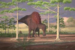 palaeo, painting, all_yesterdays, dinosaurs, ornithopods, speculative