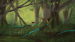 coelophysis, palaeo, painting, paleo, dinosaurs, theropods, mesozoic, triassic, feathered dinosaurs, naturalistic